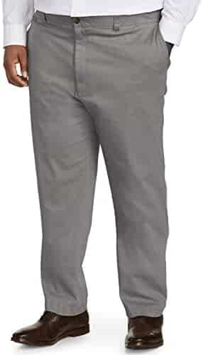 0f6fbbf7 Amazon Essentials Men's Big and Tall Athletic-fit Casual Stretch Khaki Pant  fit by DXL