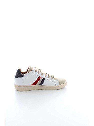 Banda con Beige WHITE BEIGE 2018 Bianco Serafini Estate Primavera Colore Collezione Beige Sneakers UomoBORGBOR03 Nuova Italia White wqAp4