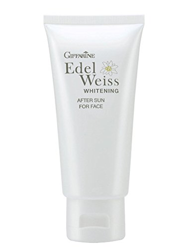 Price comparison product image Giffarine Edelweiss Whitening After Sun For Face:Treat and heal your facial skin after exposure to harsh chemicals.