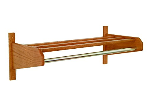 Wooden Mallet 38-Inch Coat and Hat Rack, Mahogany by Wooden Mallet