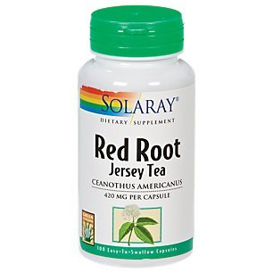 Solaray - Red Root (Jersey Tea), 420 mg, 100 capsules