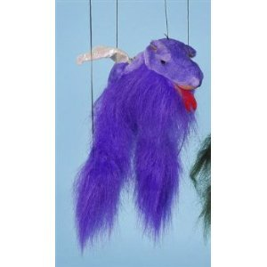 [Magical Dragon (Purple) Small Marionette] (Costume Puppet Strings)
