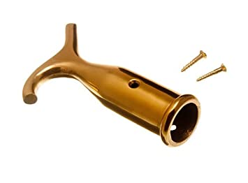 Sash Window Blind Pole Hook Polished Solid Brass  sc 1 st  Amazon.com : window latches amazon - pezcame.com