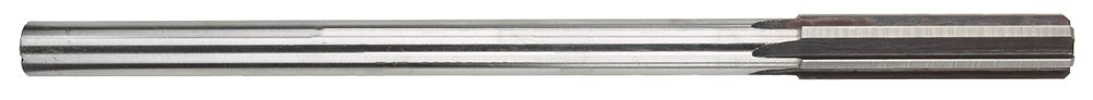 Morse Cutting Tools 29761 Decimal Size Chucking Reamer, High-Speed Steel, Bright Finish, Straight Flute, 6 Flutes, 0.467 Size by Morse Cutting Tools