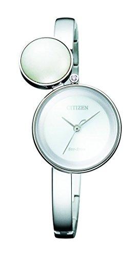 ساعت مچی زنانه Citizen مدل Quartz Watch with Stainless Steel Strap, Silver کد EW5490-59A