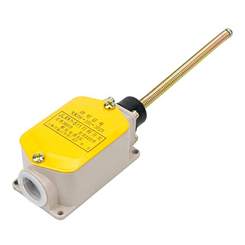 Electrical Buddy Momentary Limit Switch NO+NC SPDT Long Lever Arm Wobble Coil Spring Rod Joystick JLXK1-511 380VAC 5 Amp 220VDC ()