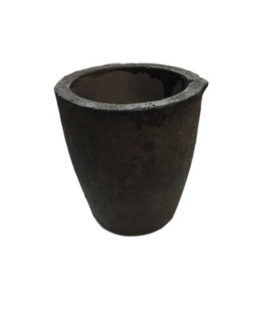 #3 6KG Premium Black Foundry Clay Graphite Crucibles Cup Furnace Torch Melting Casting Refining for Gold. Also Great for Silver, Copper, Brass, Aluminum by Rosenthal Collection