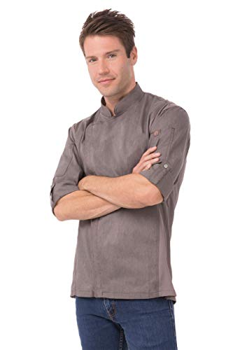 Chef Works mens Men's Hartford Chef Coat
