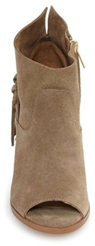 Peep Ankle Boots Toe Brown Size 5 Fisher Onita 7 Fashion Marc Womens txwRqTH