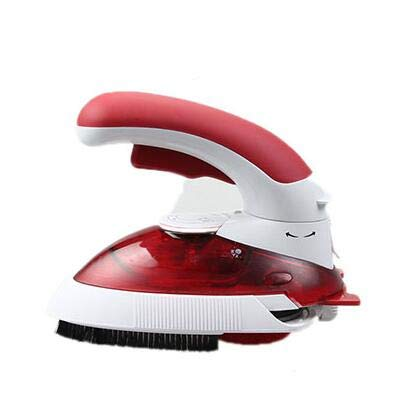 YJQWDDD Travel Steam Iron Multifuction Electric Iron Steamer Mini Portable Handy Garment Steamer Iron 800W 220V EU Plug red
