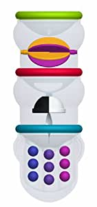 Sassy Pour and Explore Cups Bath Toy, White