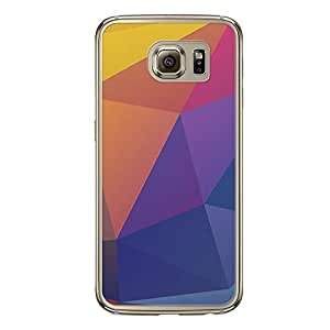 Loud Universe Samsung Galaxy S6 Geometrical Printing Files A Geo 44 Printed Transparent Edge Case - Multi Color