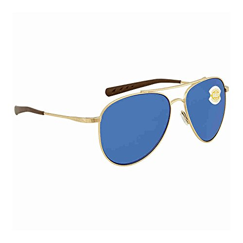 Cook Del Costa Mar Blue Gold Mirror Sunglasses FEx8nfx4