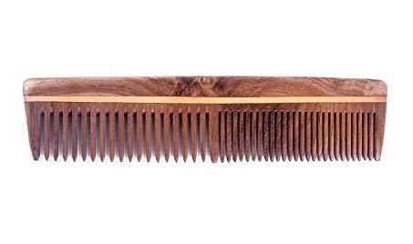 Majik Neem Wood Comb Anti Dandruff Handmade Wooden Comb For Men And Women Wooden Pack Of 1 Neem Wood Comb