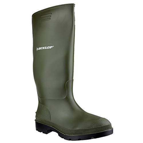 Dunlop Mens Pricemastor Wellington Green Size UK 11 EU ()