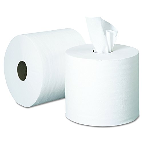 Perforated White Paper Towel (Georgia Pacific Professional 28143 SofPull Perforated Paper Towel, 7 4/5 x 15, White, 560 Per Roll (Case of 4 Rolls))