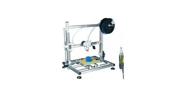 Velleman K8200 3d impresora montar Incluye Proxxon perforación ...