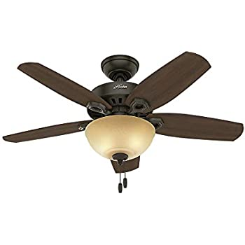 hunter 53200 italian countryside 52 inch ceiling fan with five aged rh amazon com