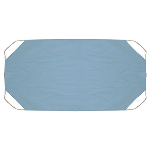Fitted Sheet for Plastic Corner Cots 52'' (10 Pack) Blue CB064652