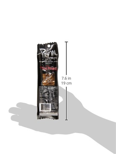Primal Spirit Foods Primal Strips, Thai Peanut, 1 oz. by Primal Spirit Foods (Image #5)