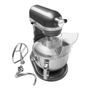 Genial KitchenAid Professional 600 Series 6 Quart Stand Mixer KP26M1XQpm 6 Quart Pearl  Metallic Large 10
