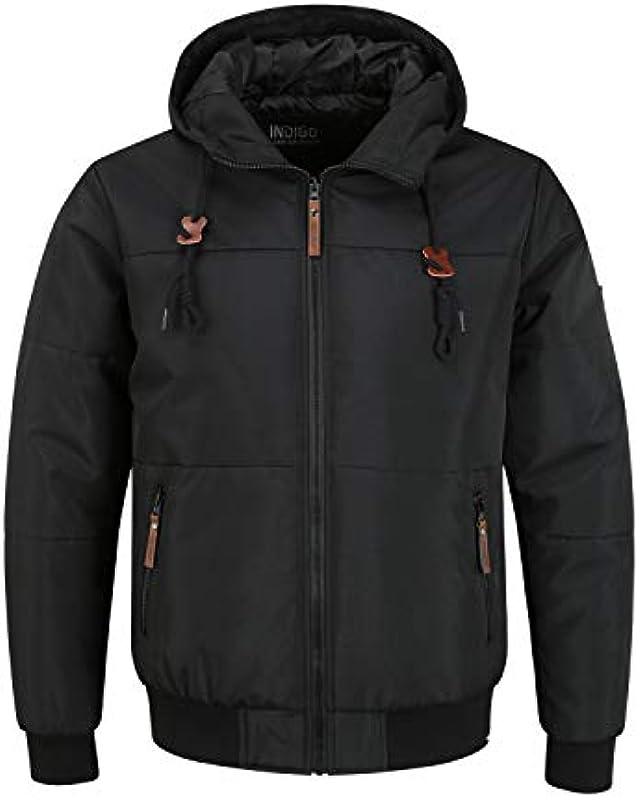 Indicode Hannibal męska kurtka przejściowa kurtka męska z kapturem: Odzież