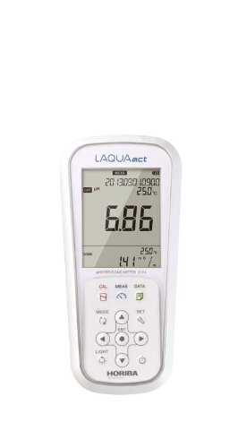 Horiba 3200575165 Model D-74 Portable pH/ORP/Conductivity/Resistivity Meter, Chemical Resistant