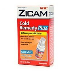 Zicam Cold Remedy Plus Oral Mist, 1 FZ (Pack of 8)