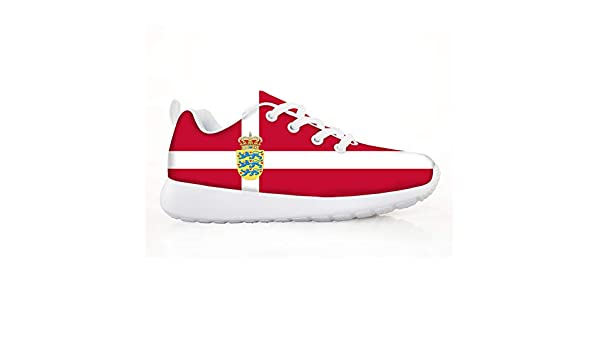 Owaheson Boys Girls Casual Lace-up Sneakers Running Shoes Botswana Flag