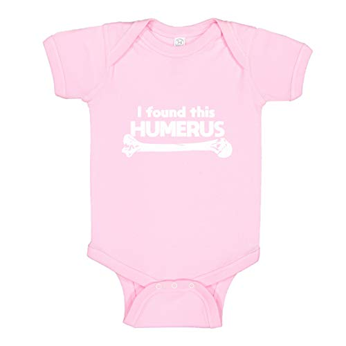 Indica Plateau Baby Romper I Found This Humerus Light Pink for 6 Months Infant Bodysuit]()