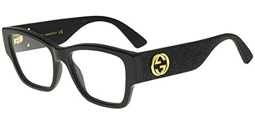 Eyeglasses Gucci GG 0104 O- 001 BLACK - Cheap Gucci Frames
