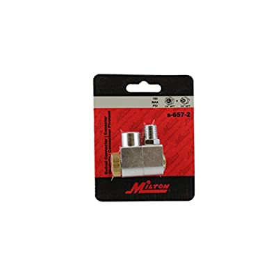 Milton Air Hose Swivel Connector - 1/4in. Dia. NPT, Model# S-657
