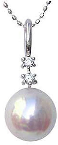 パール ペンダントトップ ペンダントヘッド 真珠ペンダントチャーム真珠 パール ペンダントトップ ペンダント あこや本真珠 8.5mm ダイヤモンド 0.07ct Pt900 プラチナ 結婚式 入学祝 パーティー