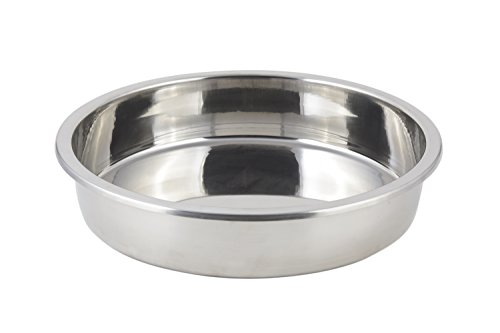 Bon Chef 60031 Stainless Steel Cucina Food Pan for 6-Quarts French Pot, 12-3/4
