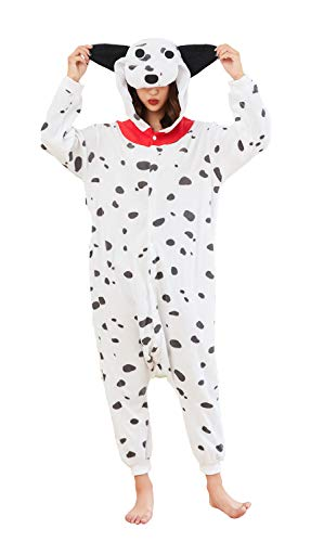 Dog Onesie Pajamas One-Piece Unisex Adult Animal Cosplay