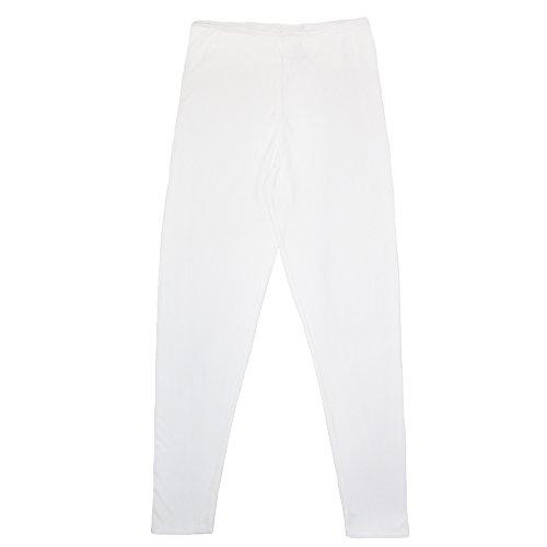 Cuddl Duds Women's Softwear Insulated Leggings, Medium, White