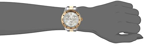 Invicta Women's Angel Quartz Watch with Stainless-Steel Strap, Two Tone, 18 (Model: 21770)