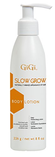 GiGi Slow Grow Hair Inhibitor Daily Moisturizing Body Lotion, 8 oz
