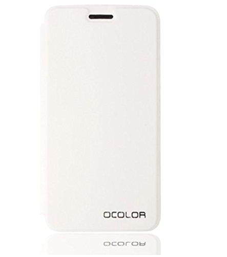 Prevoa ® 丨 Flip PU Funda Cover Case Protictive Carcasa para UMI MAX 4G phablet - Android 6.0 Smartphone de 5,5 Pulgadas - Blanco