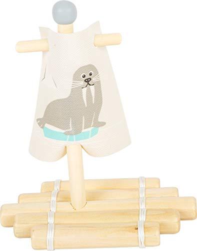 작은 발 나무 장난감 해마 뗏목 프리미엄 물 장난감 어린이 2+년 설계