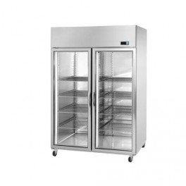 Congelador 1,48 m x 0,85 m - con 2 vidrio puertas: Amazon.es ...