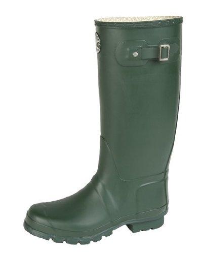 Woodland Pied Large Qualité Premium Unisexe Wellingtons Vert - Vert ZyygeRnW