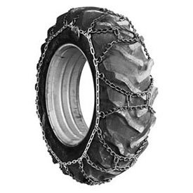 107 Series Duo-Trac Tractor Tire Chains, Steel, Pair - Lot of 2