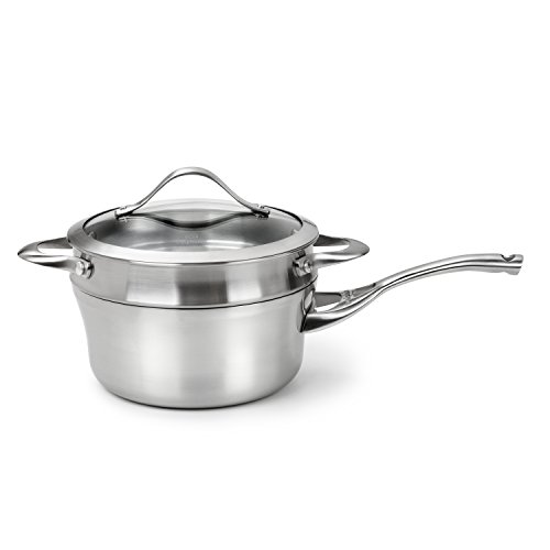 Calphalon Contemporary Stainless Steel 2-1/2-Quart Sauce and Double Boiler