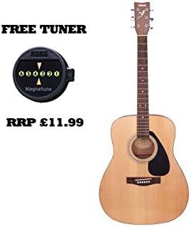 Yamaha F310 libre de Dreadnought Guitarra Acústica con Korg MG-1 ...