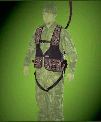 - Gorilla Gear G-TAC Safety Harness Mossy Oak Break-Up Infinity Vest 120-300 lbs