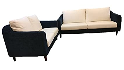 Schon 3 + 2 Scandinavian Leather Sofa