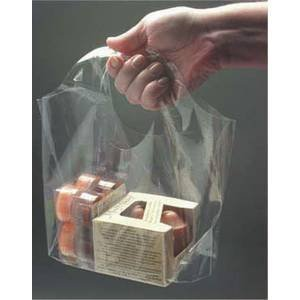 Amazon.com: Go-Go™ Clear Shopping Bags 9 1/2 x 4 x 6 Case of 1000 ...