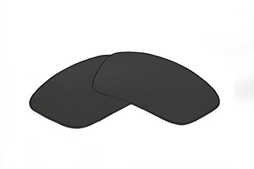 (SFx Replacement Sunglass Lenses fits Spy Optics Curtis 57mm Wide (Ultimate Extrm Slv Mirror DrkBlck Pair-Regular))