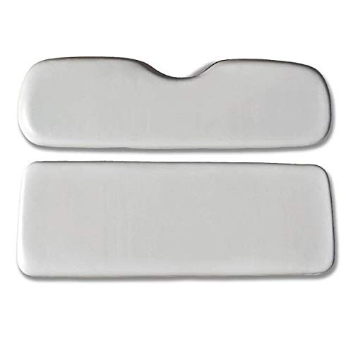 Rear Seat Bottom - Replacement Cushions for Golf Cart Rear Seat Mach1 / Mach2 (Shell White)